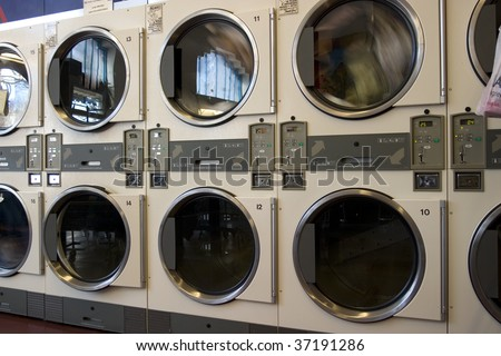 Clothes Dryers Machines - stock photo