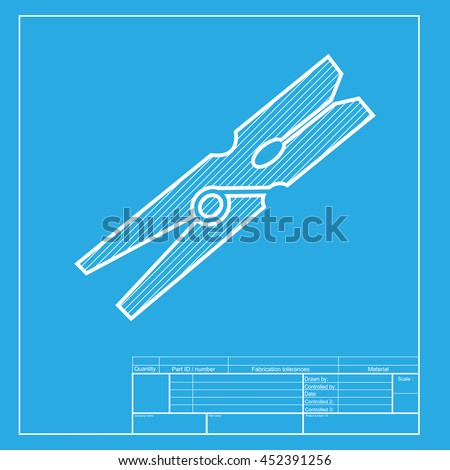 Tool pipe wrench line drawing isometric vectores en stock 376670584 clothes peg sign white section of icon on blueprint template malvernweather Image collections