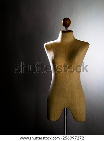 Clothing mannequin - stock photo