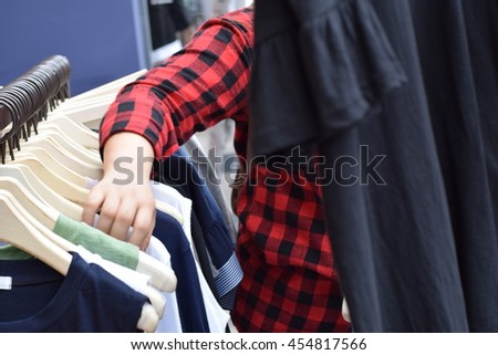 clothing Market in the korea