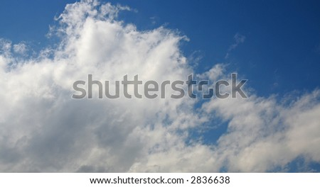 Cloud and sky