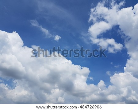 Cloud and sky background