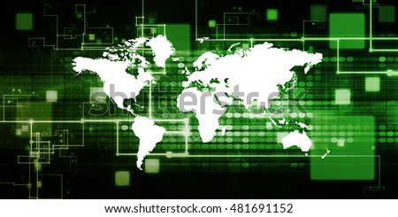 Cloud Computing Concept and International Data Access Network