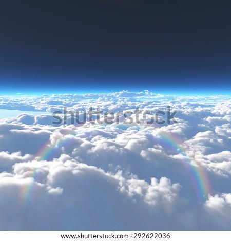 Cloud, heaven, - stock photo