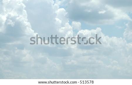 Cloud nine - stock photo