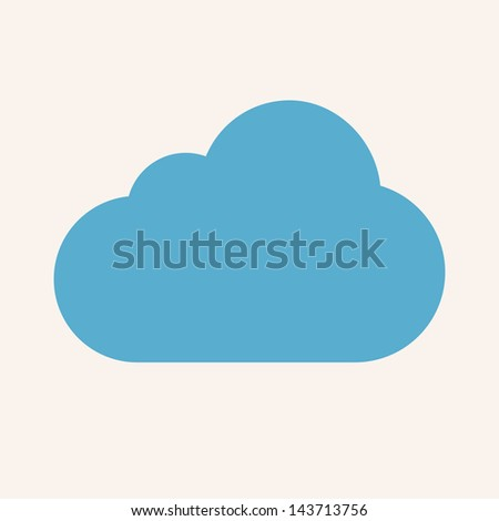 Cloud Service - stock photo
