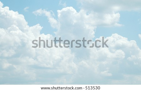 Cloud six - stock photo