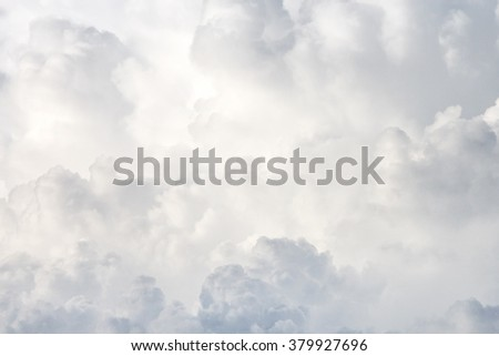 Cloud Skyscape Cumulus Clouds Thunderhead - stock photo