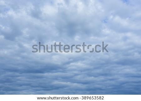 cloud storm - stock photo