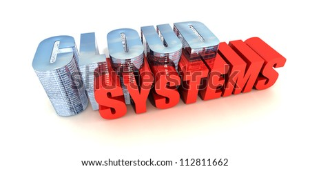 Cloud Systems - stock photo