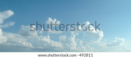 Cloud two - stock photo