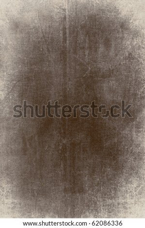 clouded brown vintage background - stock photo