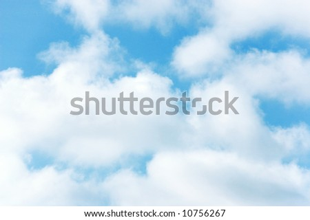 clouds background wallpaper - stock photo
