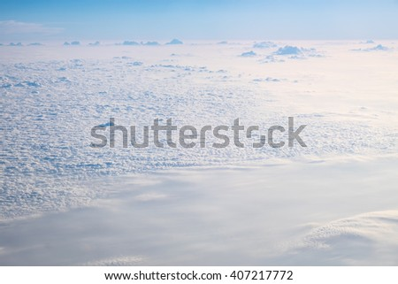 Clouds texture wallpaper.