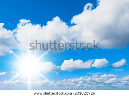 Cloudscape Divine Sunshine Outdoor