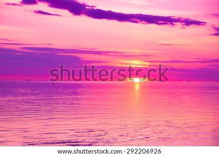Cloudscape Sky Paradise  - stock photo