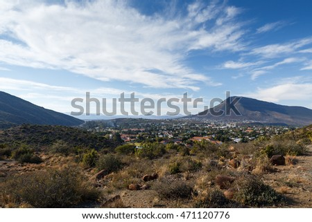 Cloudy Day In The City - Graaff-Reinet is a town in the Eastern Cape Province of South Africa. It is the fourth oldest town in South Africa, after Cape Town, Stellenbosch, and Swellendam.