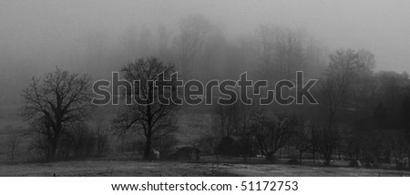 Cloudy Morning - stock photo