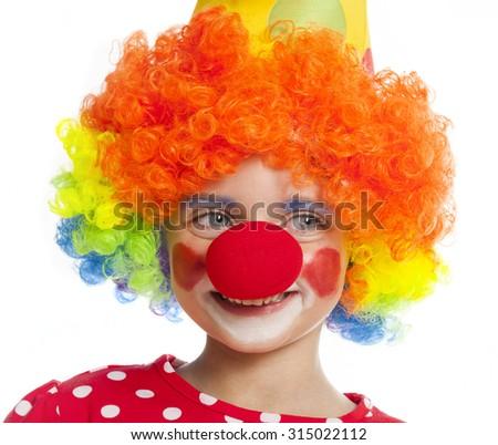 clown - stock photo