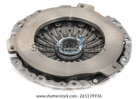 Clutch basket for the car. Microstock photography for over a white background - stock photo