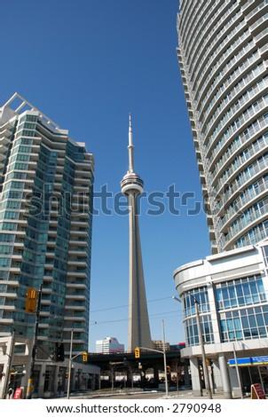 CN Tower - stock photo