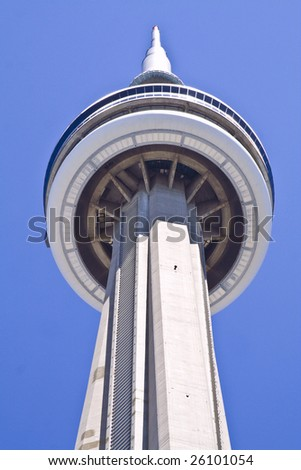 CN Tower Toronto, Ontario, Canada - stock photo