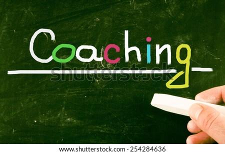 coaching concept - stock photo
