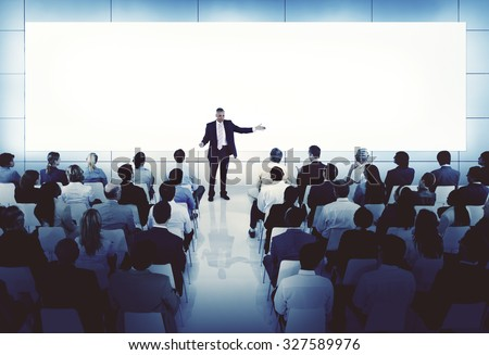 Coaching Mentoring Seminar Meeting Conference Business Concept - stock photo