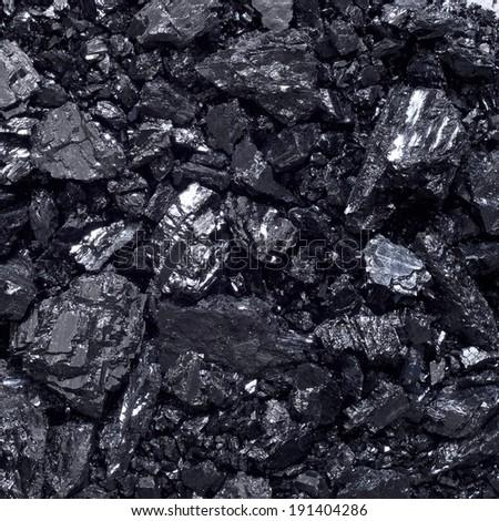 Coal background. - stock photo