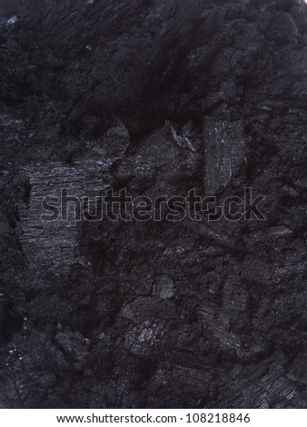 coal, carbon nugget ibackground texture - stock photo