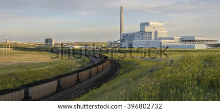 Coal, King of Power Generation - stock photo