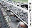 coal loading, Banovica, Bosnia and Hercegovina - stock photo