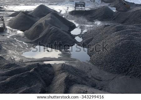 Coal Mining - stock photo
