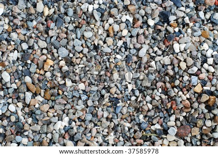 coarse sand for use as background/texture. - stock photo