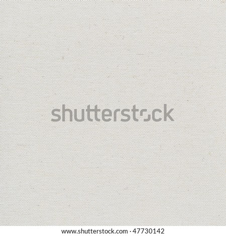 coarse texture of blank artist cotton canvas background (unfinished surface) - stock photo