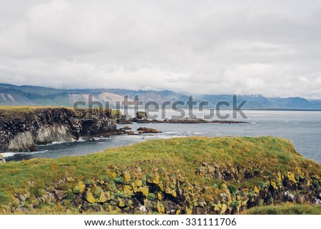 Coast in Iceland