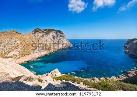 Coast of Mallorca, Spain - stock photo