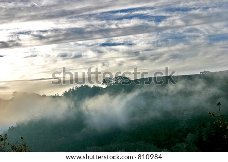 Coastal December Morning - stock photo