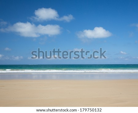 Coastal scene at Anglesea, Victoria - stock photo