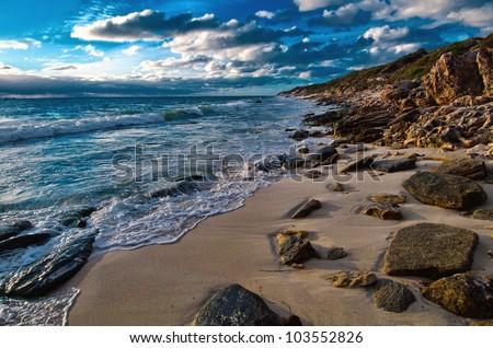Coastline Perth Australia - stock photo