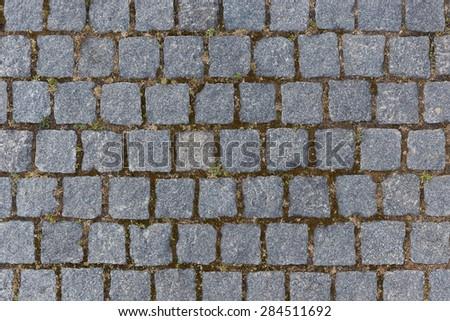 Cobble texture - stock photo