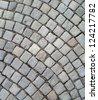 Cobblestone abstract texture - stock photo