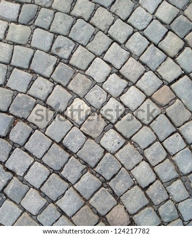 Cobblestone abstract texture