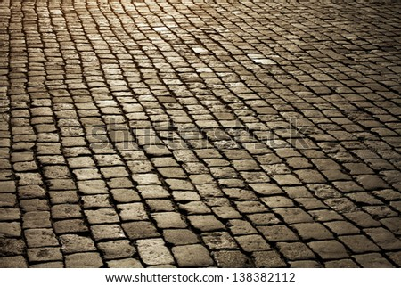 Cobblestone Roads Stock Photos Images Pictures