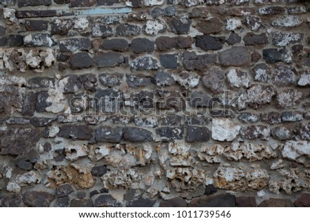Cobblestone Wall made from Shell limestone