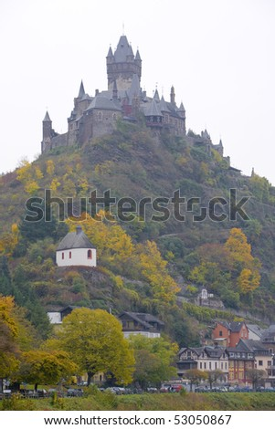 Cochem, Rheinland Pfalz, Germany - stock photo