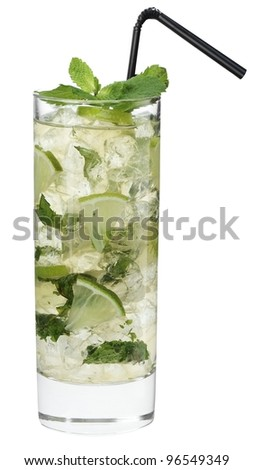 Cocktail Bacardi - stock photo