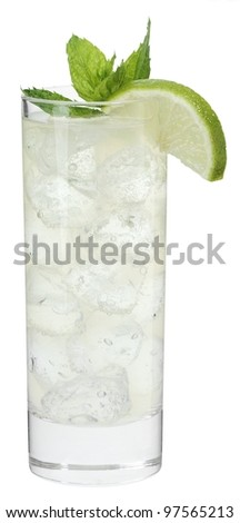 Cocktail moscow mule - stock photo