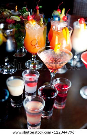 Cocktail party - stock photo