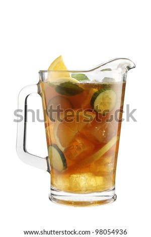 Cocktail pitcher classic - stock photo
